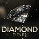 Diamond Titles - VideoHive Item for Sale