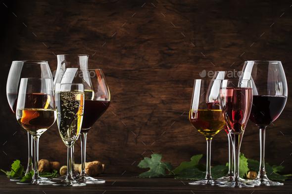 Wine tasting - Stock Photo - Images