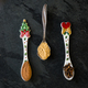Spices for Christmas Gingerbread Cookies in Spoons - PhotoDune Item for Sale