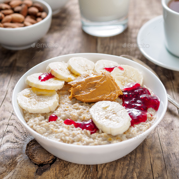 Healthy Breakfast in the morning - Stock Photo - Images