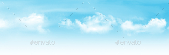 Abstract wide sky backdrop - Stock Photo - Images