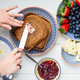 Tasty Family Breakfast with Toasts, Porridge, Berries - PhotoDune Item for Sale
