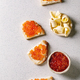 Red caviar with bread and butter - PhotoDune Item for Sale