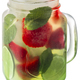 Strawberry mojito cocktail jar, paths - PhotoDune Item for Sale