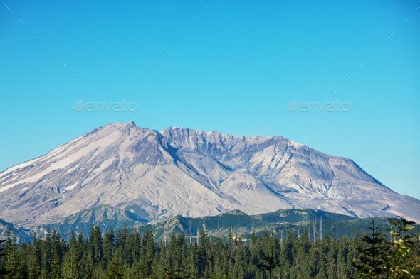 Mount Helen - Stock Photo - Images