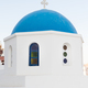 Iconic church with blue cupola in Oia - PhotoDune Item for Sale