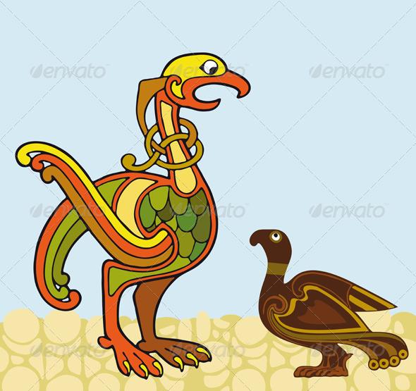Birds Talk - Animals Characters