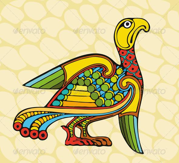 Motley Bird - Animals Characters