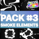 Smoke Elements Pack 03 | FCPX - VideoHive Item for Sale