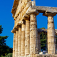 The greek Temple of Athena. Paestum, Italy - PhotoDune Item for Sale