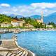 Tremezzo Tremezzina view, Como Lake district landscape. Italy, Europe. - PhotoDune Item for Sale