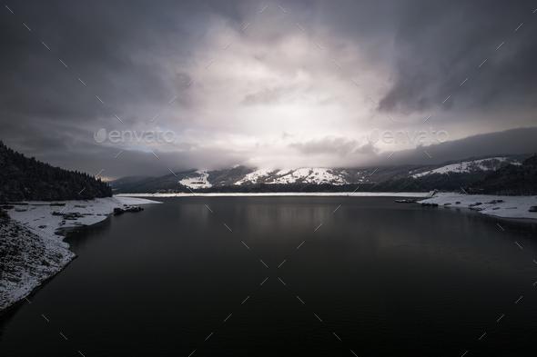 Bicaz Lake - Stock Photo - Images