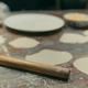 Wooden rolling pin for flattening dough for dumplings - PhotoDune Item for Sale