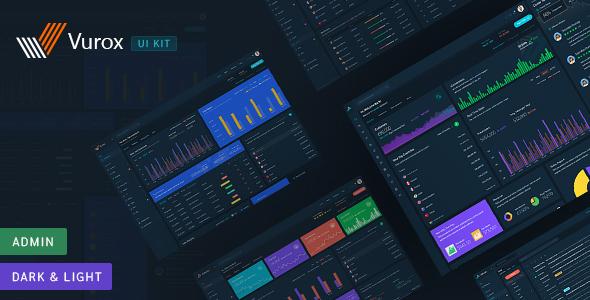 Vurox - Admin Dashboard UI KIT by tophive