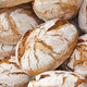 Fresh wholegrain loaves of rye or wheat bread - PhotoDune Item for Sale