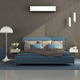 Blue and brown modern master bedroom - PhotoDune Item for Sale