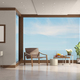 modern living room of a villa by the sea - PhotoDune Item for Sale