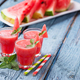 Glasses of watermelon smoothie with mint - PhotoDune Item for Sale