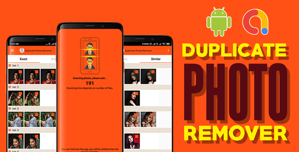 Duplicate Photo Remover   Android App   Admob