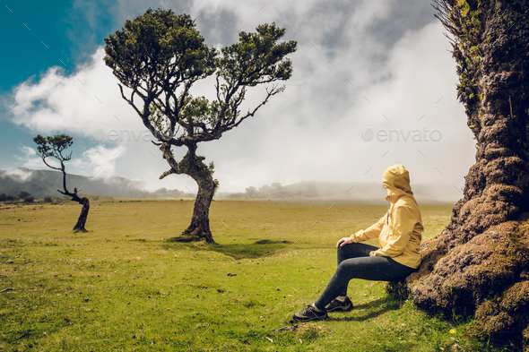 Just me and Nature - Stock Photo - Images