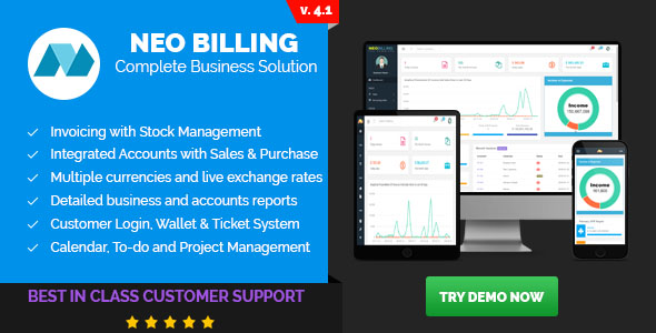 Neo Billing - Accounting, Invoicing And CRM Software