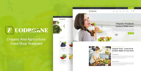 Super Fuodborne - Organic & Agriculture Food Shop Template