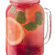 Strawberry mint lemonade jar, paths - PhotoDune Item for Sale