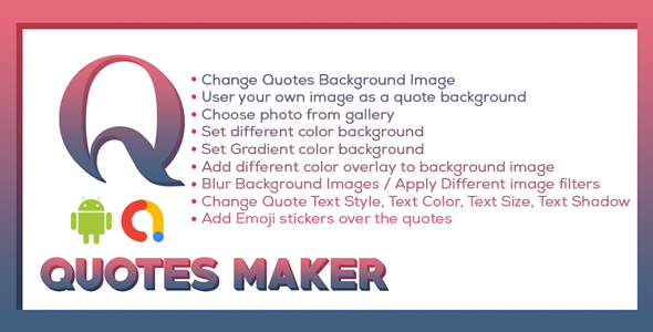 Picture Quotes and Creator   Text On Photo maker    Quote Maker   Android Ads