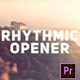 Rhythmic Modern Opener - VideoHive Item for Sale