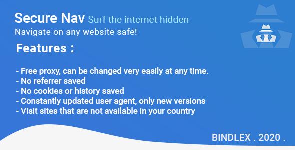 Secure Nav - Surf the internet hidden
