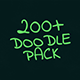 200 Doodle Pack - VideoHive Item for Sale