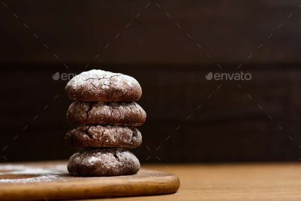 chocolate cookies - Stock Photo - Images