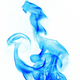 blue Fire flames on white background - PhotoDune Item for Sale