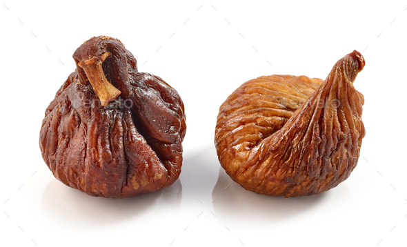 dried figs macro - Stock Photo - Images