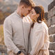 beautiful young couple hugging at the Great Wall of China - PhotoDune Item for Sale