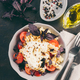 Pasta fusilli with cherry, mozarella and basil - PhotoDune Item for Sale