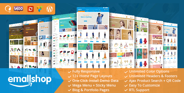 EmallShop - Responsive WooCommerce WordPress Theme