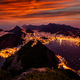 Beautiful panorama of Rio de Janeiro at twilight, Brazil. Sugarloaf Mountain - PhotoDune Item for Sale