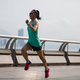 Sporty woman running in Hong Kong - PhotoDune Item for Sale