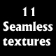 11 seamless textures - 3DOcean Item for Sale