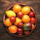 Bright fruits in large tray - PhotoDune Item for Sale