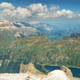 View of mountains from Marmolada summit in Dolomites, Italy - PhotoDune Item for Sale