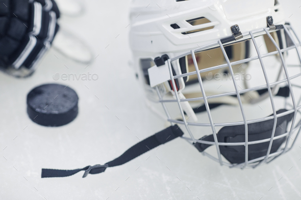 Sport and Hockey Background - Stock Photo - Images