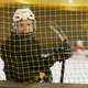 Female Hockey Player Smiling - PhotoDune Item for Sale