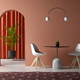 conceptual interior room 3d illustration - PhotoDune Item for Sale