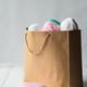 oval acrylic wool yarn thread skeins with kraft package - PhotoDune Item for Sale