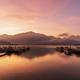 Beautiful sunrise landscape at sun moon lake in nantou, Taiwan - PhotoDune Item for Sale