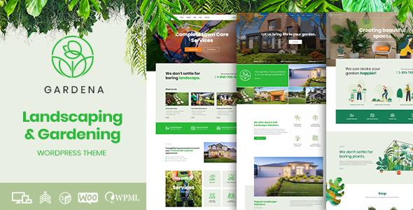 Gardena - Landscaping & Gardening by BoldThemes   ThemeForest