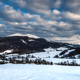 Cloudscape at Wetlina in Bieszczady Mountains, Poland at Winter Season - PhotoDune Item for Sale