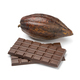 Raw whole cocoa fruit and pieces of chocolate - PhotoDune Item for Sale